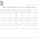 Дни недели - Игра поставь слова по порядку