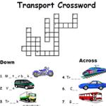 Транспорт - Кроссворд