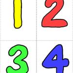 Числа - карточки